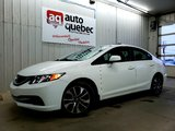 Honda Civic EX Toit Ouvrant  / Mag / Bas Kilo 2013 Garantie 1 An ou 15 000 km GMP / Inclus