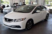 Honda Civic Sedan EX CAMERA DE RECUL 2014