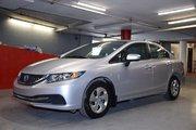 Honda Civic LX CAMÉRA RECUL SIÈGES CHAUFFANTS 2015 LX CAMÉRA RECUL SIÈGES CHAUFFANTS