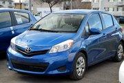 Toyota Yaris LE HATCH TOUTE ÉQUIPÉ AIR PORTES VITRES 2013 UN SEUL PROPRIO JAMAIS ACCIDENTÉ