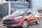 2012 Mazda Mazda5 GS 6 PASSENGER! GREAT FUEL MILEAGE