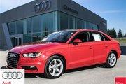 2015 Audi A3 2.0T Komfort quattro 6sp S tronic More Driving Pleasure - 2015 A3