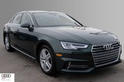 2018 Audi A4 2.0T Technik quattro 7sp S tronic Brilliance is both the Inspiration and Result of Our Design