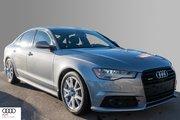 2016 Audi A6 3.0T Technik quattro 8sp Tiptronic Intelligence, Intelligently Deployed.