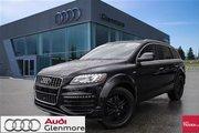 2015 Audi Q7 3.0T Sport quattro 8sp Tiptronic Must See!!