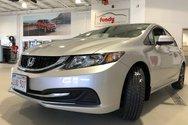 2015 Honda Civic Sedan EX w/push start, alloy, sunroof