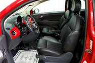 Fiat 500 Décapotable / Cuir / Bas Kilo / Jamais Accidenté 2012