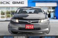 2012 Honda Civic LX SEDAN - INCLUDES SNOW TIRES ON RIMS