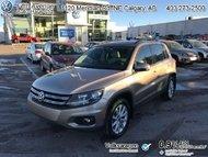 2015 Volkswagen Tiguan Comfortline  - Certified - $144.15 B/W