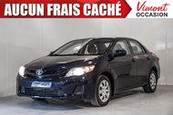 Toyota Corolla 2012+CE+A/C+BLUETOOTH+PORTES ET MIROIR ELECTRIQUES 2012