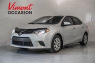 Toyota Corolla LE+A/C+GR ELEC+CAMERA RECUL+SIEGES CHAUFFANTS 2014