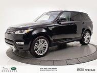 2016 Land Rover Range Rover Sport DIESEL Td6 HSE   VOLANT CHAUFFANT