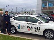 Capitale Nissan participe au Noël du bonheur