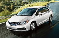 Les récompenses de la Honda Civic Hybrid