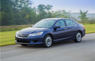 Les récompenses de la Honda Accord Hybride