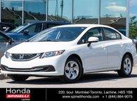 2014 Honda Civic LX DEAL PENDING AUTO BAS KM