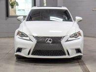 2016 Lexus IS 300 F SPORT II AWD; CUIR TOIT GPS ANGLES MORTS