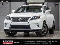 2015 Lexus RX 350 F SPORT AWD; CUIR TOIT GPS AUDIO