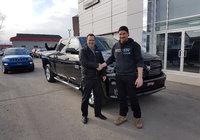 Un gros merci à Alex pour son tout nouveau Ram Sport et bonne chance dans ta nouvelle entreprise.