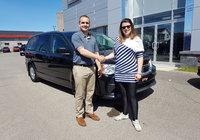 Merci à Marie-Pier Gendron du Sentier Fleuri pour l'achat de sa Grand Caravan, toute l'équipe te souhaite beaucoup de livraison à bord de ton nouveau véhicule.