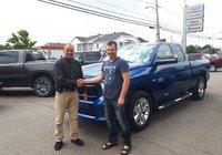 Félicitation à M. Raymond Landry pour l'achat de son nouveau Ram 1500 Express et merci!