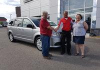 Merci à M. et Mme. Ouellet de la Brocante de la Rivière pour l'achat de leur nouvelle Dodge Grand Caravan ainsi que leurs bonne clientèle.