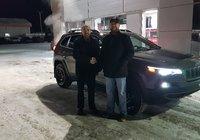 Merci à M. Gabriel Bouchard pour l'achat de son nouveau Jeep Cherokee 2019.
