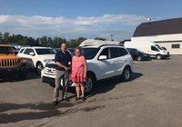 Un gros merci à Mme. Josée Gagnon pour l'achat de son Hyundai Santa Fe 2011. Et un merci spécial à son frère M. Sylvain Gagnon qui nous à référé sa soeur. Bonne Vacance.