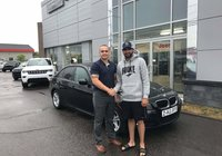 Merci à mon ami Philippe D'amours pour son 2e achat chez nous, cette fois une magnifique BMW 328i qui fera tourner les têtes. Bonne route.