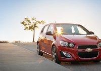 Chevrolet Sonic 2015 - La fougue prend plusieurs formes