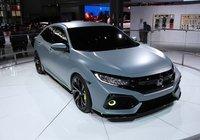 La Honda Civic Hatchback présentée à New York