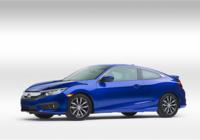 Le plaisir est au rendez-vous avec la Honda Civic Coupé 2017