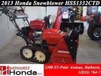 2013 Honda HSS1332TCD  Electric Start! Very Good Condition!!