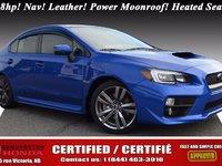 2016 Subaru WRX Limited/Sport Tech Package Turbo - 268hp! Nav! Leather! Power Moonroof! Heated Seats! Harman Kardon Audio! 4 Exhaust!