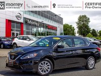 2017 Nissan Sentra SV STYLE PACKAGE! ALLOY WHEELS AND SUNROOF PKG! ASK ABOUT OUR CERTIFIED PRE-OWNED LOW FINANCE RATES!