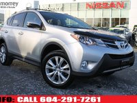 2013 Toyota RAV4 LIMITED LEATHER CHEAPEST ON THE MARKET INSPECTION, CARPROOF, AND ICBC REPORTS AVAILABLE!