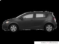 2016 Chevrolet Sonic Hatchback LS   Photo 1   Nightfall Grey Metallic