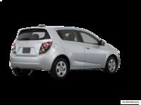 2016 Chevrolet Sonic Hatchback LS   Photo 2   Silver Ice Metallic
