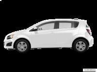 2016 Chevrolet Sonic Hatchback LT   Photo 1   Summit White