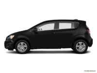 2016 Chevrolet Sonic Hatchback LT   Photo 1   Mosaic Black Metallic