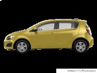 2016 Chevrolet Sonic Hatchback LT   Photo 1   Bright Yellow
