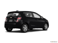 2016 Chevrolet Sonic Hatchback LT   Photo 2   Mosaic Black Metallic