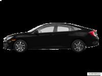 2016 Honda Civic Sedan EX-SENSING   Photo 1   Crystal Black Pearl