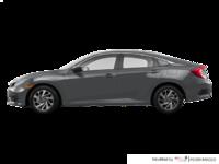 2016 Honda Civic Sedan EX-SENSING   Photo 1   Modern Steel Metallic