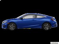 2016 Honda Civic Coupe LX | Photo 1 | Aegean Blue Metallic