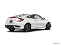 2016 Honda Civic Coupe TOURING | Photo 2 | White Orchid Pearl