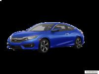 2016 Honda Civic Coupe TOURING | Photo 3 | Aegean Blue Metallic