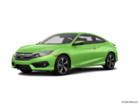2016 Honda Civic Coupe TOURING | Photo 3 | Energy Green Pearl