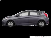 2016 Hyundai Accent 5 Doors LE   Photo 1   Triathlon Grey