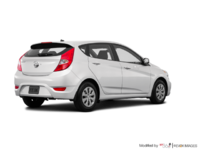 2016 Hyundai Accent 5 Doors LE   Photo 2   Century White